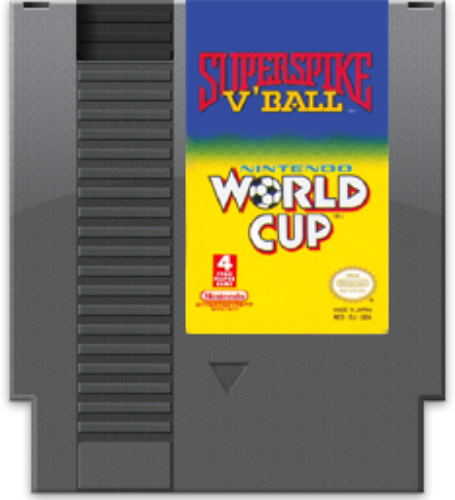 Super Spike Volleyball and World Cup Soccer