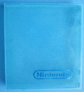 Official Nintendo Branded NES Game Hard Plastic Case - BLUE