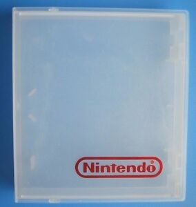 Official Nintendo Branded NES Game Hard Plastic Case - CLEAR