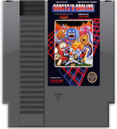 Ghosts 'n Goblins [5 Screw]